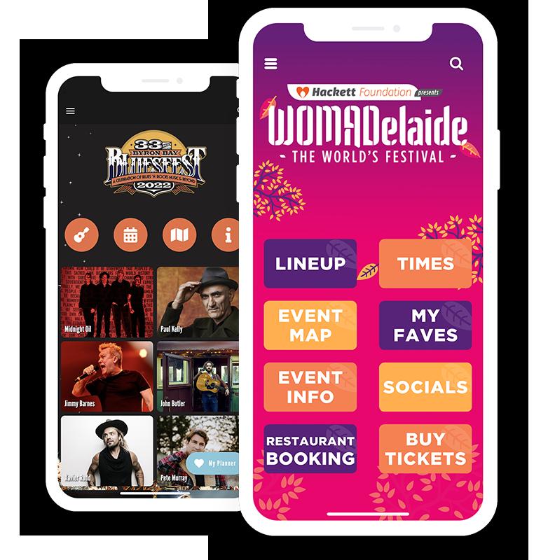 Stunning apps  for festivals